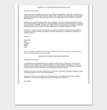 Nursing Reference Letter 16 Sample Letters
