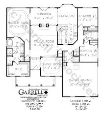 Chatham A House Plan   Active Adult House Planschatham a house plan   st floor plan