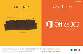 Whats That You Say Office 365 Is Now Free For Csu Students Charlie