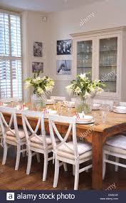 impressive white chalk painted dining room table white painted chairs at painted wooden dining chairs