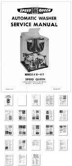 washer dryer library service manual to the very first speed queen published by speed queen in 1952 here is the complete service manual to the very first speed queen automatic washer this was the beam design