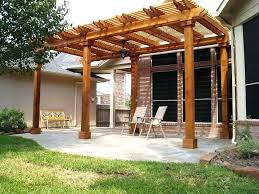free standing covered patio designs. Interesting Covered Covered Patios Attached To House Patio Cover Designs Large Size Of  How Build A Freestanding  Free Standing A