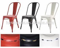 Sedie Pieghevoli Francesi : Colorato sedia di ferro ristorante vintage industriale
