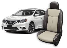 nissan sentra seat covers leather