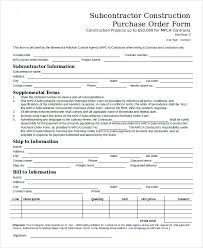 Purchase Order Format Doc Purchase Order Form Excel Purchase Order Form Excel Purchase Order