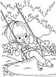 Small Picture images of rainbow bright coloring pages
