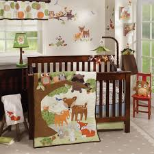 Nursery Beddings Unique Modern Baby Bedding As Well As Woodland