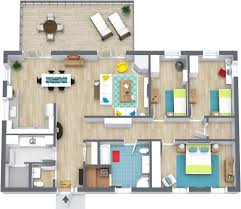 house 3 bed room house plan with stairs embellishment bedroom