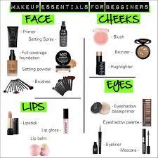 basic makeup essentials guide list best ideas about beginner makeup on basic makeup kit