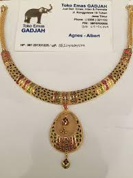 22k gold india dubai gold necklace