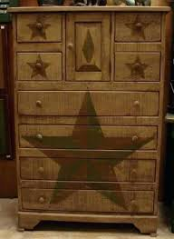 rustic looking furniture. Rustic Looking Furniture Antique Dresser With Painted Stars Style Design Of Inside