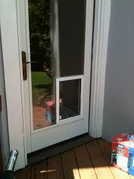 sliding glass pet door small