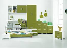 contemporary kids bedroom furniture green. Colorful Kids Bedroom Ideas In Small Design : Cool Contemporary Green Closet Learning Furniture O