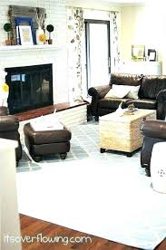 chocolate brown couches living room country rugs for couch set decorative wood rug dark leather bro