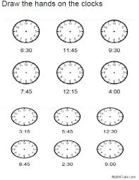 Collections of Telling Time To The Minute Worksheets Free, - Easy ...