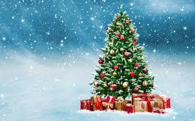 Swieta, Boze Narodzenie, Christmas 5120x3200 078 Choinka, Prezenty, Snieg,  Gwiazdeczki - Tapety na pulpit