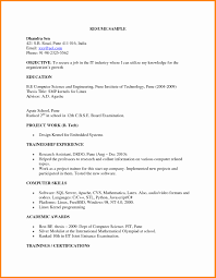 Standard Resume Format For Freshers Pdf Tomyumtumweb Com