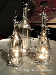 34 Fascinating Upcycling DIY Wine Bottle Projects To Refresh Your Wine Bottle Christmas Crafts