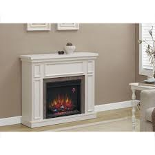 home decorators collection granville 43 in convertible a console electric fireplace in antique white with