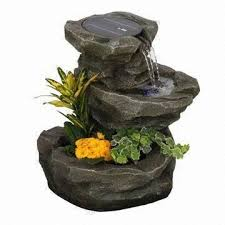 Creative Of Solar Fountain Garden Self Contained Water Features