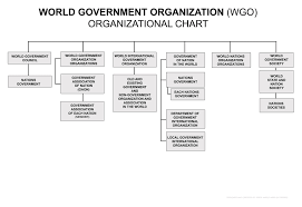 World Government Organization Organizational Chart By Jorge