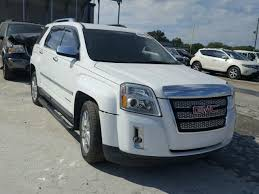 gmc 2015 terrain white. Brilliant White 2GKFLTE32F6197537  2015 Gmc Terrain Sl 36L Left View In White G