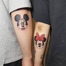 тренды 2019 стильные парные татуировки для влюбленных фото