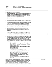 Project Meeting Minutes Template - New York University Free Download