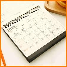 8 small desk calendar