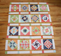 Virtual Quilting Bee - Sashing and Borders - Diary of a Quilter ... & When you've got your final fabrics chosen, lay out the entire quilt to  balance colors, prints, etc. Sew quilt together first into rows. Adamdwight.com