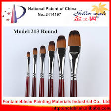 high quality natural bristle artists chinese acrylic oil painting brushes kit 135
