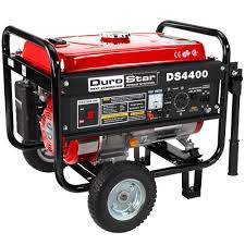 Durostar 4 400 Watt Gasoline Powered Manual Start Portable