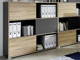 office wall shelf. Wonderful Office Germania Slide Modern Sliding Door Shelving Unit In Anthracite U0026 Light Oak  Effect For Office Wall Shelf