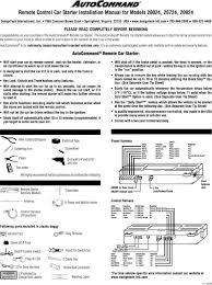 Design Tech International Springfield Va Remote Control Car Starter Installation Manual For Models