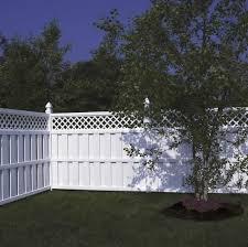 vinyl semi privacy fence. Perfect Vinyl Columbia Lattice SemiPrivate Vinyl Fence Avinylfencecom U2039 On Semi Privacy Fence