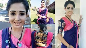 tamil serial actress explain about makeup saree jewellery use in serial part 1
