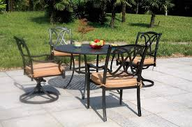 Aluminum Outdoor Dining Table Patio Deck Hearth Shop Outdoor Furniture Cast Aluminum Outdoor