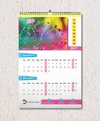 Monthly Wall Calendar