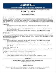 Cashier Responsibilities Resume Bank Job Description Examples Of Enchanting Cashier Responsibilities Resume