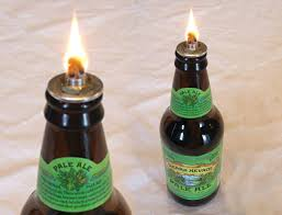 the pale ale bottle lantern