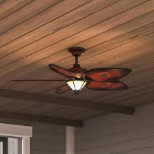 details about 56 inch indoor outdoor ceiling fan light remote control weather resistant blades