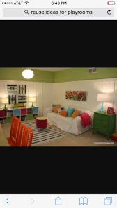 FUN board and batten playroom- maybe a version of what the girls playroom  can look like as they get older?