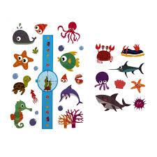 Kids Ocean Temporary Tattoo Pack