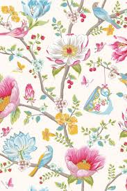 Chinese Garden Wallpaper White Pip Studio The Official Website