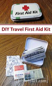 bphotoart diy travel first aid kit
