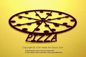 pizza wall art