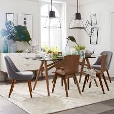 eclectic dining room branch globe glass chandelier elegant white