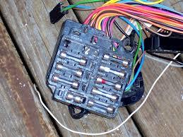 1977 corvette fuse box diagram corvette wiring diagram instructions automotive fuse and relay block at Diy Fuse Box