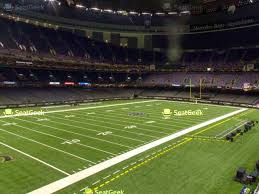 New Orleans Saints Seating Chart Mercedes Benz Stadium Seating Chart New Orleans Up To Date