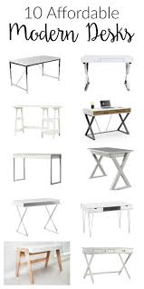 cheap office desks for home. 10 Affordable Modern Desks Cheap Office For Home F